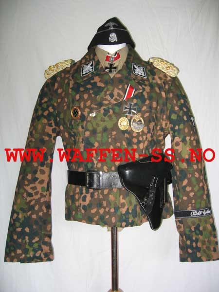 Panzer Officer - Verlinden - Busto 200mm Ss-gen-uniform-dot