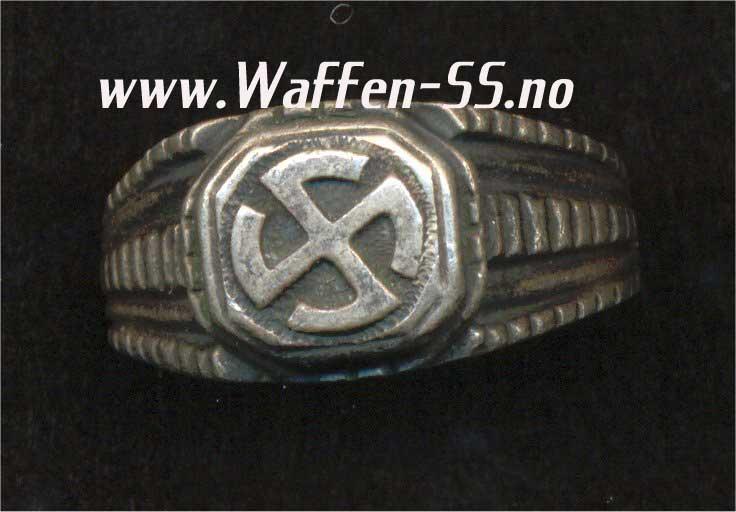 German Rings in Silver
